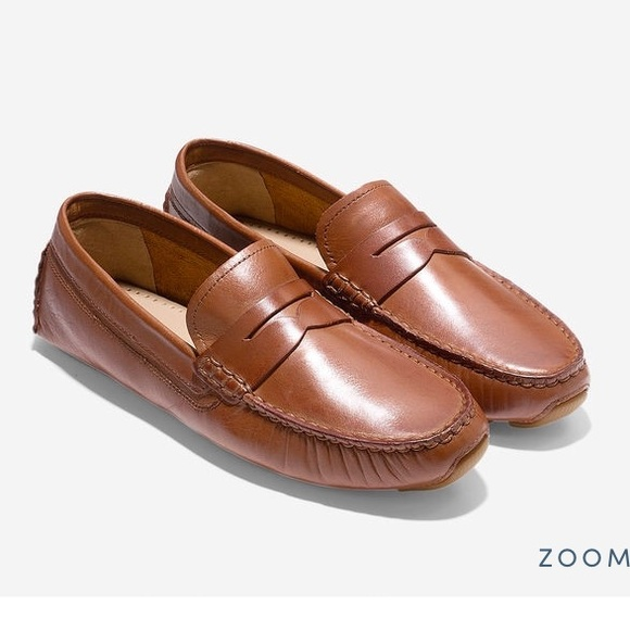 Cole Haan Leather Driving Moccasins